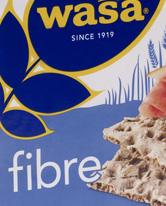 WASA Crispbread Fibre