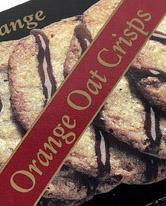 Gille Orange Oat Crisps.