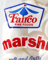 Fairco Fine Foods Marshmallows White Large