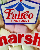 Fairco Fine Foods Marshmallows Coloured small