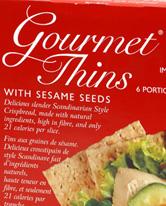 Waissel's Gourmet Thins