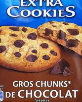 Extra Cookies Chocolate